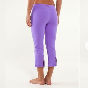 Lululemon crow and gather crop sz